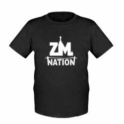 Дитяча футболка ZM nation - FatLine