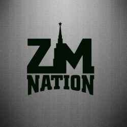 Наклейка ZM Nation - FatLine