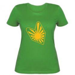 Женская футболка Значек JDM - FatLine