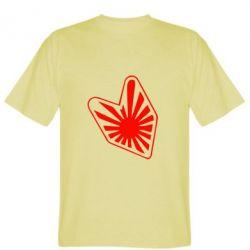 Мужская футболка Значек JDM - FatLine