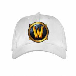 Детская кепка Значок wow - FatLine