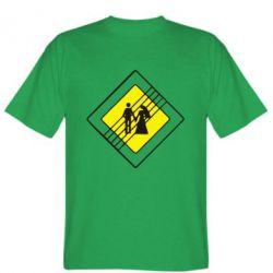 Мужская футболка знак весілля - FatLine