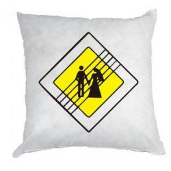 Подушка знак свадьбы - FatLine