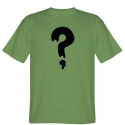 Мужская футболка Знак Вопроса - FatLine