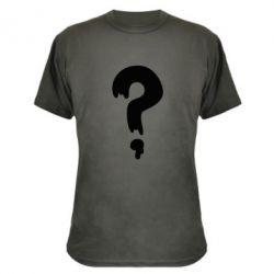 Камуфляжная футболка Знак Вопроса - FatLine