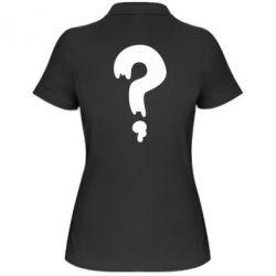 Женская футболка поло Знак Вопроса - FatLine