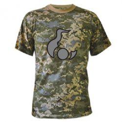 Камуфляжная футболка Знак - FatLine