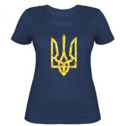 Женская футболка Золотий герб - FatLine