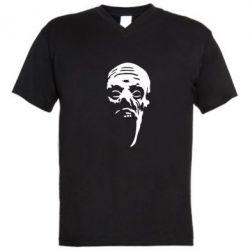 Мужская футболка  с V-образным вырезом Зомби (Ходячие мертвецы) - FatLine