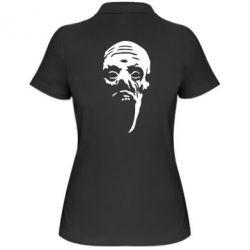 Женская футболка поло Зомби (Ходячие мертвецы) - FatLine
