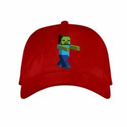 Детская кепка Зомби Minecraft - FatLine