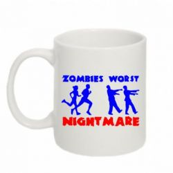 Кружка 320ml Zombies the worst night mare