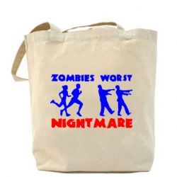 Сумка Zombies the worst night mare