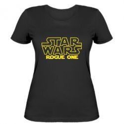 Женская футболка Звездные Войны: Бродяга Один