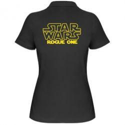 Женская футболка поло Звездные Войны: Бродяга Один