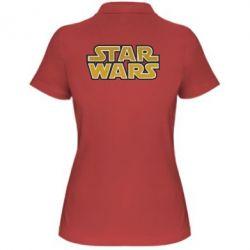 Женская футболка поло Звездные войны - FatLine