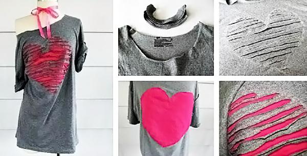 Як самостійно декорувати звичайну футболку  - FatLine ecb8e2e7629eb