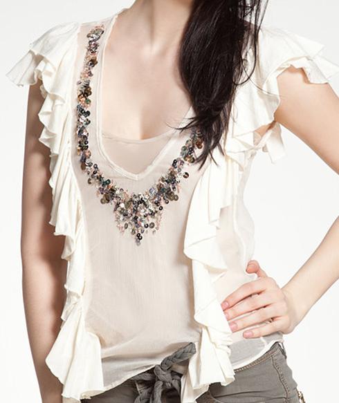 Як самостійно декорувати звичайну футболку  - FatLine accdca43b07fe