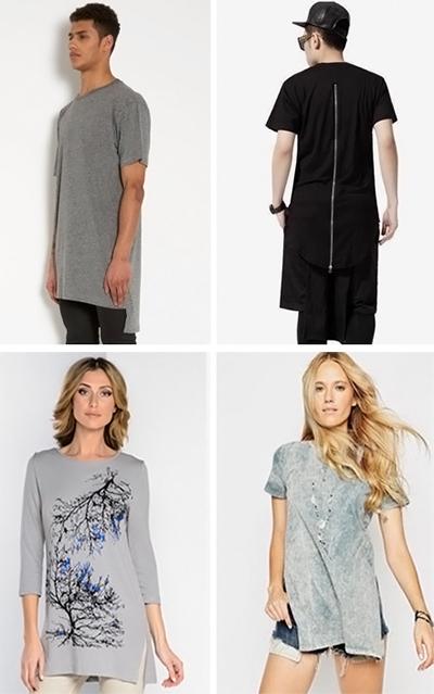 Чоловічі та жіночі довгі футболки (фото) e9cc7703ef48f