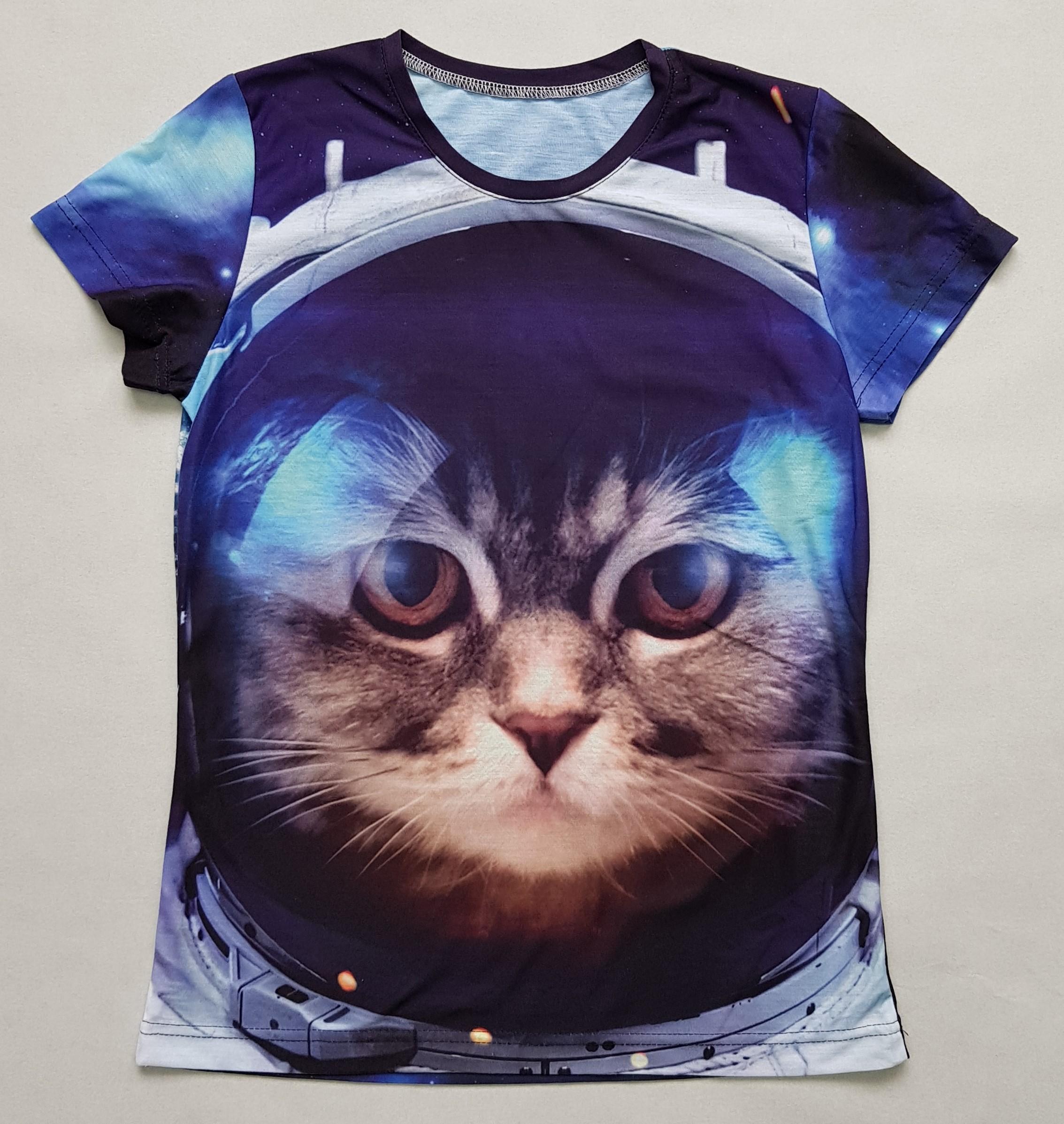 Товары с принтами на тему 3D футболка Животные (фото)