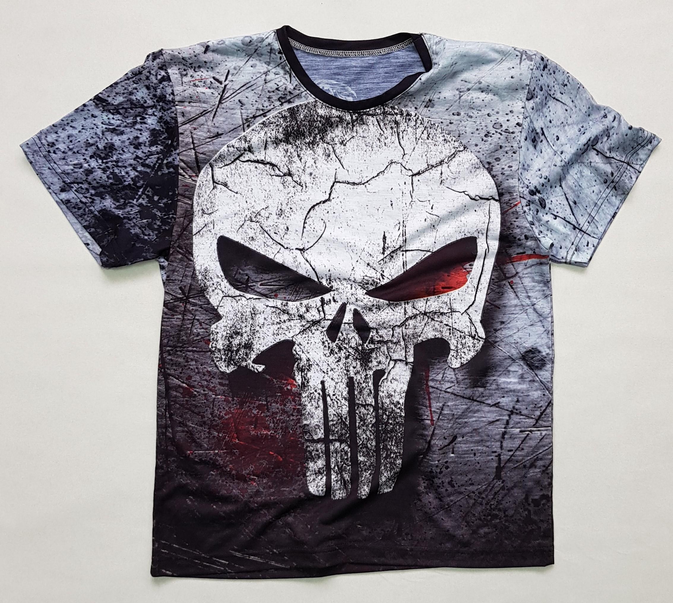 Товары с принтами на тему 3D футболка Каратель (фото)