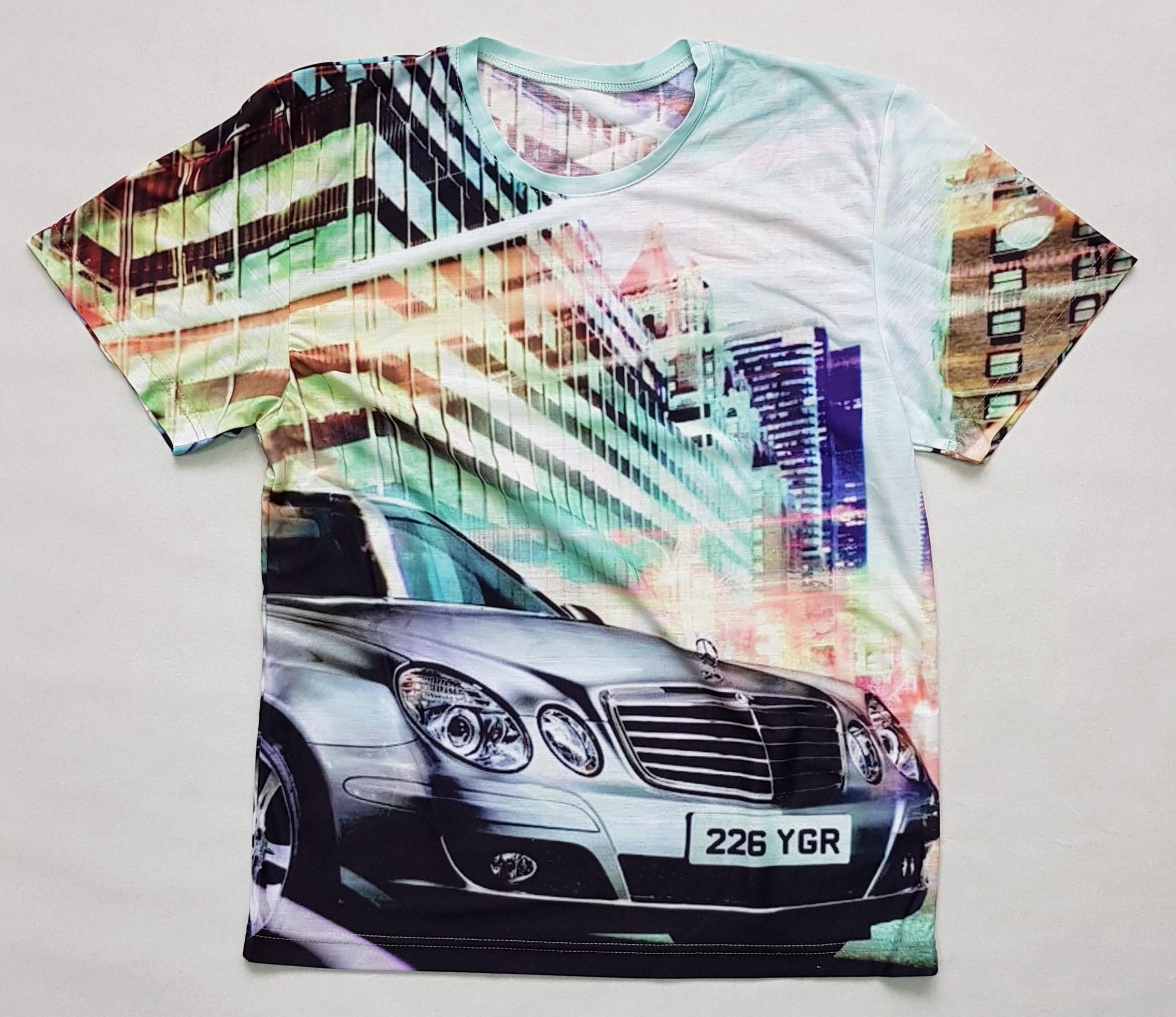 Товары с принтами на тему 3D футболка Mercedes (фото)