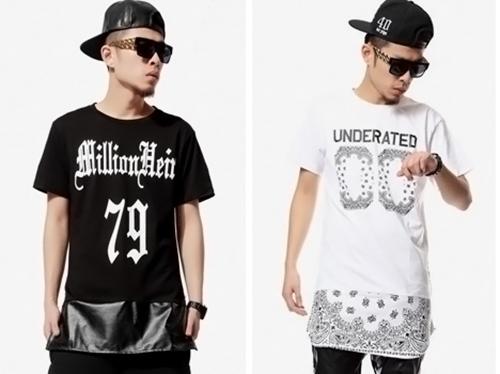 Як правильно носити чоловічі подовжені футболки (фото) 7831471ac69ea