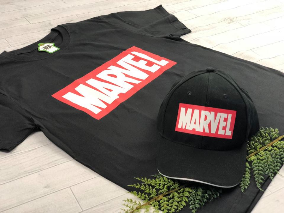 Товары с принтами на тему Marvel (фото)