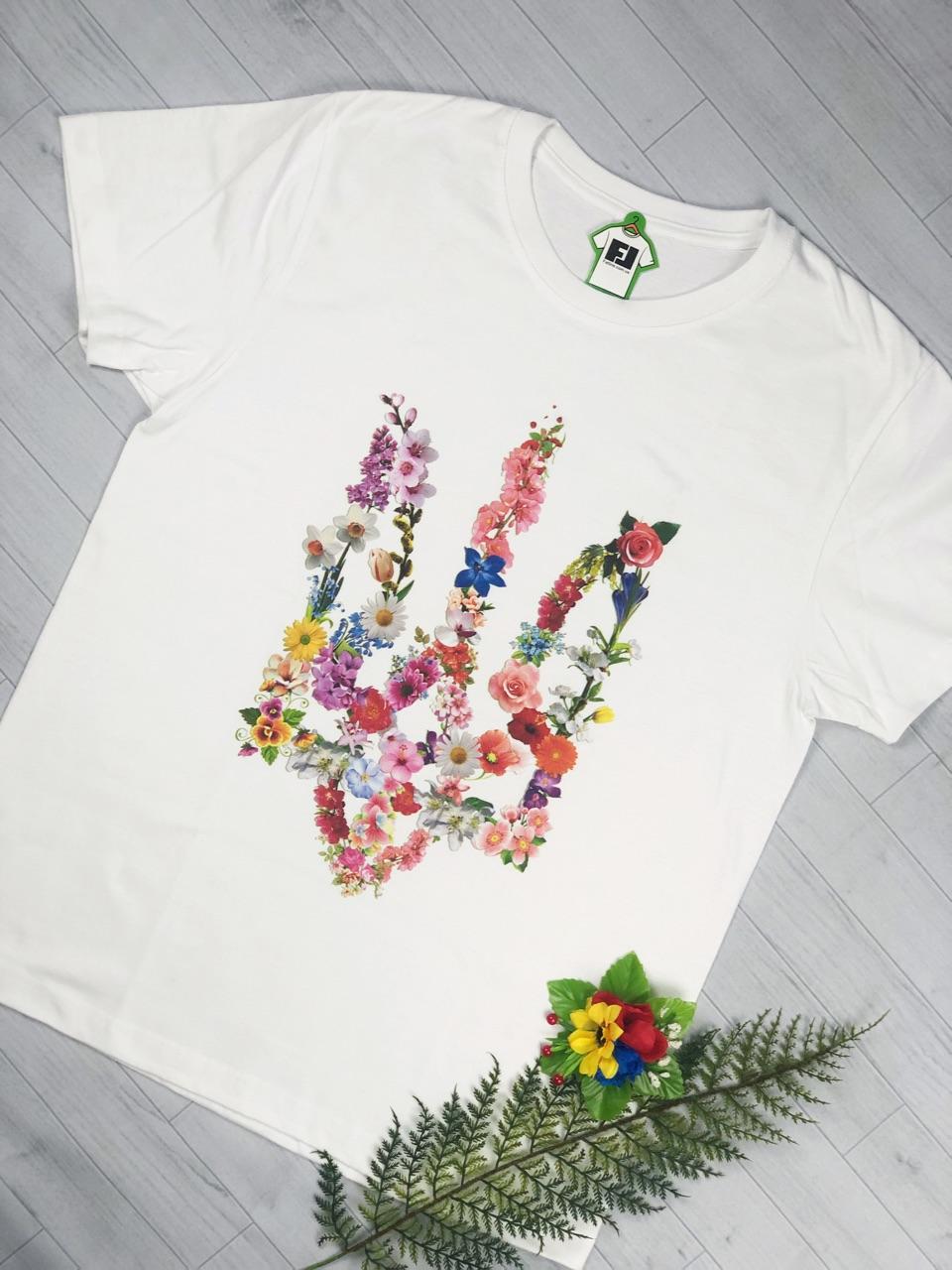 Женские футболки с гербом Украины - купить в Киеве c476c6171dbb2