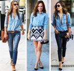 С чем носить джинсовую рубашку? 5 крутых образов для девушек