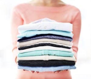 Як скласти одяг, щоб не пом'явся