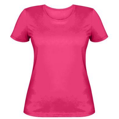 Цвет Розовый, Женские футболки - FatLine