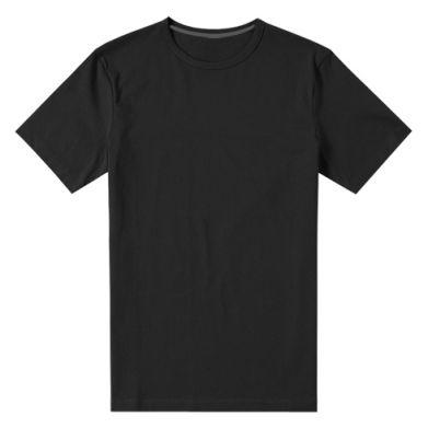 Цвет Черный, Мужские стрейчевые футболки - FatLine