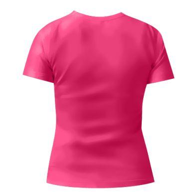 Женская футболка БУуууу