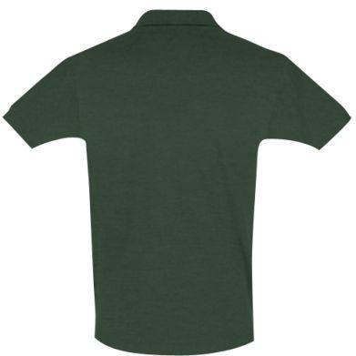 Цвет Темно-зеленый, Поло мужские - FatLine