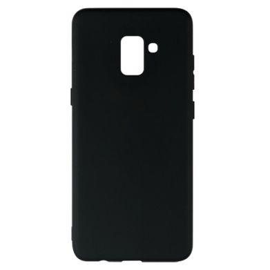 Цвет Черный, Samsung A8+ 2018 - FatLine