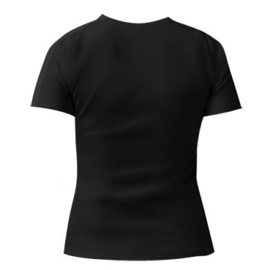 Женская стрейчевая футболка dethalbum 2