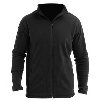 Цвет Черный, Мужские флисовые куртки - FatLine