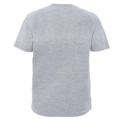 Мужская футболка скелет заяц