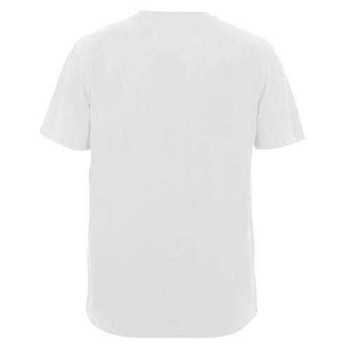 Мужская футболка  с V-образным вырезом Great wall эмблема