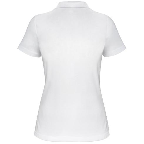 Женская футболка поло скелет заяц