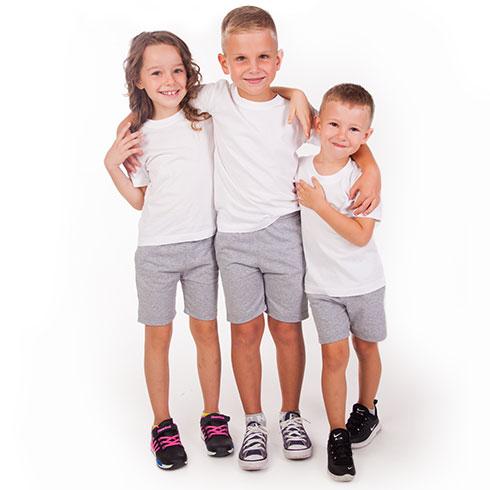 Детские шорты зебра
