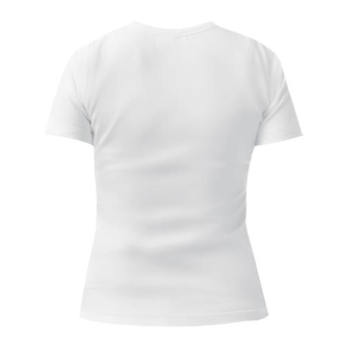 Женская футболка с V-образным вырезом Энштейн 2