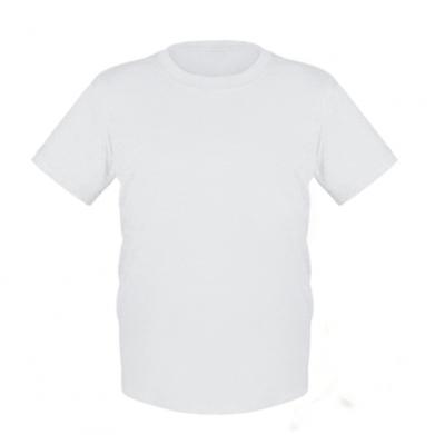Цвет Белый, Детские футболки - FatLine