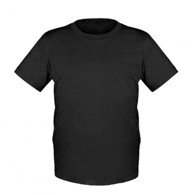 Цвет Черный, Детские футболки - FatLine