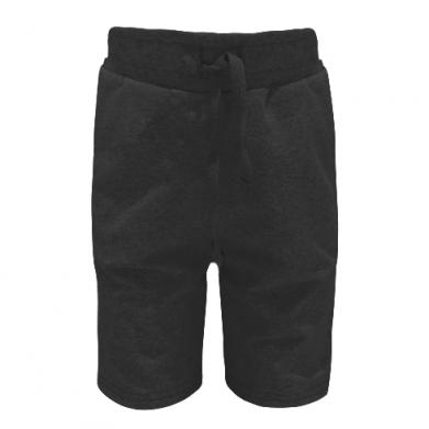 Цвет Черный, Детские шорты - FatLine