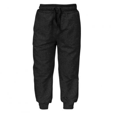 Цвет Черный, Детские штаны - FatLine