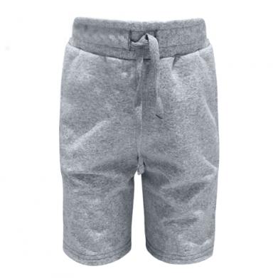 Цвет Серый, Детские шорты - FatLine