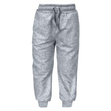 Цвет Серый, Детские штаны - FatLine