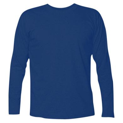 Цвет Темно-синий, Футболки с длинным рукавом - FatLine